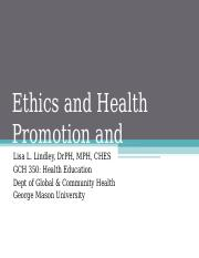 Chapter 5 Ethics & Health Promotion & Education.ppt
