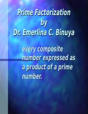 Prime Factorization.ppt