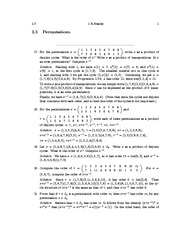 Permutations Examples and REview