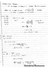 351 center limit theorem notes and problem