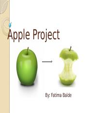 Apple Project