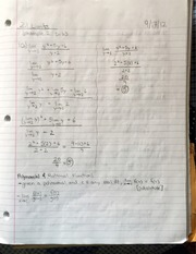 AP Calculus Limits examples and bookwork