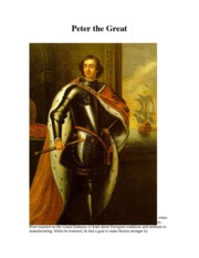 Peter the Great Magazine