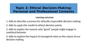 Topic 2  - Ethical Decision Making.pptx