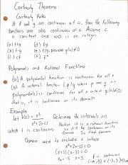 M 408c Differential And Integral Calculus Ut Page 1