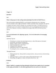 Supply Chain Homework Set 4.docx