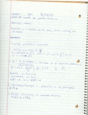 ECON 351 Lecture Notes (Week 3)