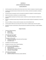 chapter 16 class handout with questions