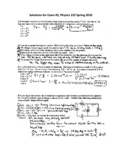 Exam 2 - S10 - Solutions