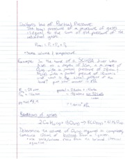 CH Notes Gas Laws