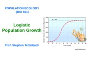 Bio 501.Lecture 2.Logistic Population Growth