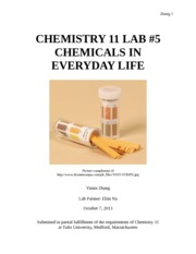 Lab5.Everyday Chemicals