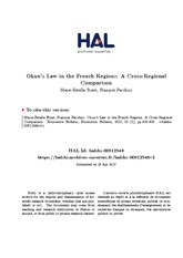 Okun's law in the french regions