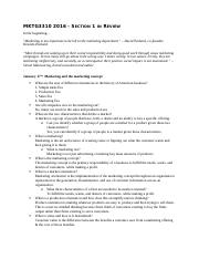 MKTG 3310 Section 1 Study Guide.docx