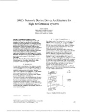 Network Device Driver Architecture