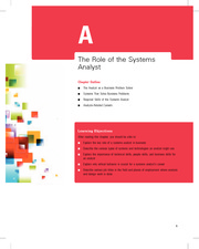 Online Chapter A The Role of the Systems Analyst