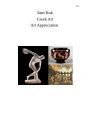 SAM GREEK ART