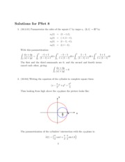 solutions for homework 8