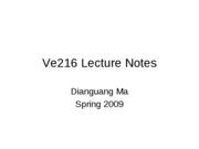 Ve216LectureNotesChapter4