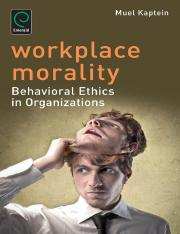 Workplace Morality_ Behavioural - Prof Muel Kaptein (2).pdf
