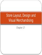 Store Layout, Design, and Visual Merchandising