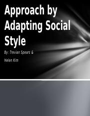 Approach by Adapting Social Style 2.pptx