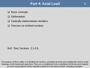PART 4 - Axial Load