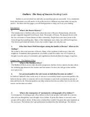 Outlier - Reading Study Guide
