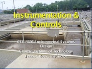 Instrumentation _ Control CEE4395 S2015(1)