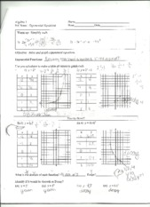Exponential Equations 2