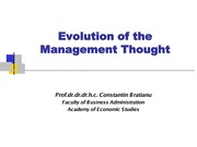BC_03_Evolution of management thought