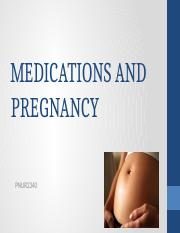Medications and Pregnancy.pptx