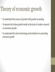 THEORY OF ECONOMIC GROWTH 1.ppt