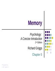 Griggs_Chapter_05_Memory_DP (1).ppt