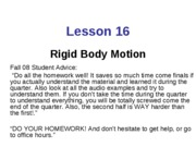 L16-Rigid Body Motion_1