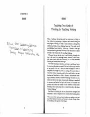 Elbow ,Teaching Two Kinds of Thinking copy.pdf