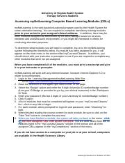myNetLearning Instructions - Students - Revised 09-13-11.doc