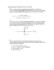 Lecture Additional Z-transform Problems