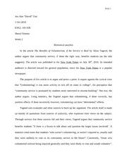 Drexel essay admissions