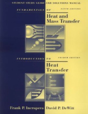 Fundamentals of Heat and Mass Transfer - Solutions Manual