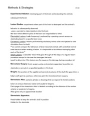 PSYCH 351 Exam Two Study Guide