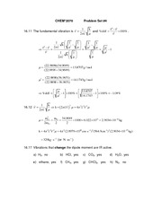 Problem Set 4 (with solutions)
