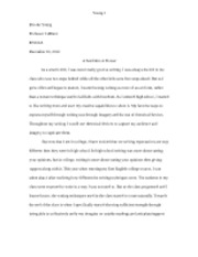 A seed into a flower reflective essay