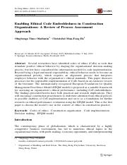 Enabling Ethical Code Embeddedness in Construction Organizations.pdf