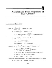 Text Ch 8 Solutions