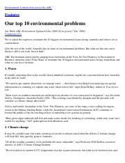 001-Our top 10 environmental problems – Features – ABC Environment (Australian Broadcasting Corporat