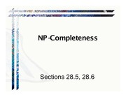 Ch28bNP-Completeness