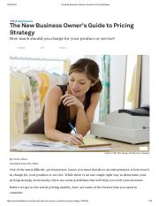 The New Business Owner's Guide to Pricing Strategy.pdf