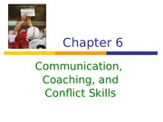 _Communication, Coaching & Conflict skills
