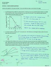 BCH 361 Midterm Solutions Green version